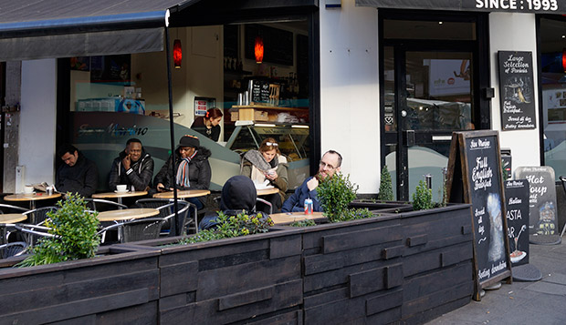 Guide to work-friendly Brixton cafes: San Marino, Brixton Road, SW9