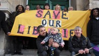 "Calling on council cabinet members to ""do the right thing"" on libraries, Lambeth Councillor Scott Ainslie will join staff picketing outside Brixton Library today at 1pm, Monday 8th Feb."