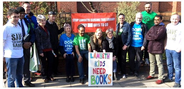 Carnegie Library: As Herne Hill councillors remain silent, Green Party Scott Ainslie offers to speak for campaigners