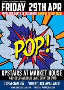 Offline Club Brixton - Britpop to Beyonce @ Market House   London   United Kingdom