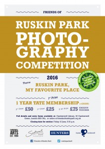 Friends of Ruskin Park Photography Competition 2016 @ Ruskin Park | London | United Kingdom