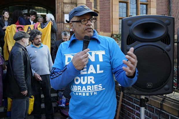 Occupation of Lambeth's Carnegie Library continues into second day