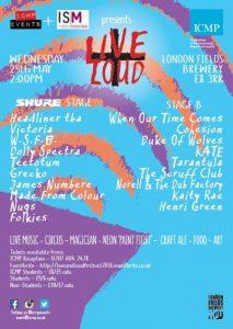 Live + Loud Festival @ London Fields Brewery | London | United Kingdom