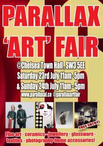 Parallax Art Fair July 2016 @ Chelsea Town Hall | London | United Kingdom
