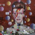 Although the council cleared away the large collection of artefacts, mementoes and floral tributes that had been left at the makeshift David Bowie shrine in central Brixton, it's still proving a popular […]