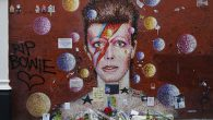 Although thecouncil cleared away the large collection ofartefacts, mementoes and floral tributes that had been left at the makeshift David Bowie shrine in central Brixton, it's still proving a popular […]
