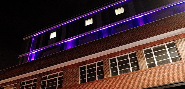 With Brixton's new 89-room Premier Inn preparing toofficially open its doors on the 18th June 2016, the building hasnow acquired a garish purple glow at night, with neon strip lighting […]