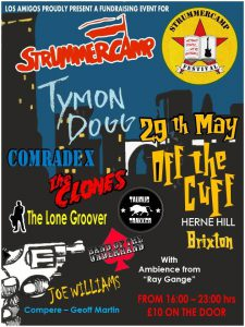 Strummercamp (Joe and Clash inspired one day festival) @ Off the Cuff Bar 301 - 303 Railton Road, Herne Hill | London | United Kingdom