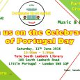 London's first Portuguese Street Market launches in Stockwell / Oval this Saturday, celebrating 'Portugal Day' with crafts, artists, musicians, dancers and Portuguese food and groceries at the South Lambeth Tate […]