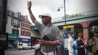 He's been a fixture around Brixton for many years, and this week ex-light heavyweight boxer Carlton Warren took up residence outside the tube station to preach the word of God.