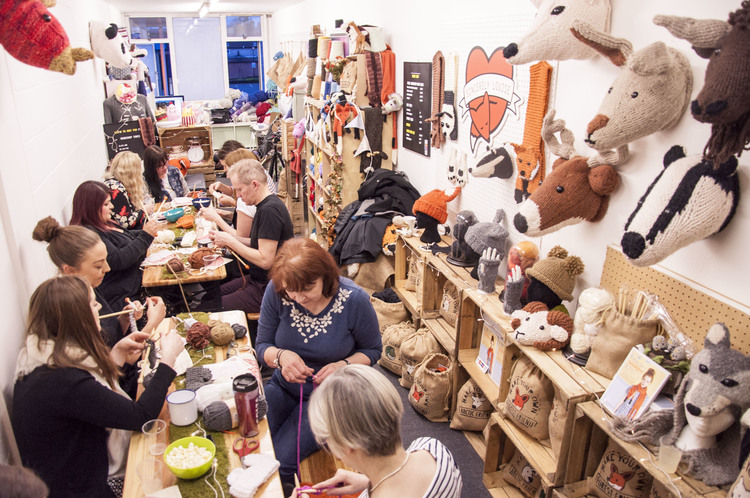 Knitting Events London : Sincerely louise open studio knitting drop in