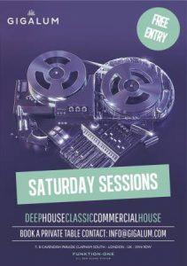 Saturday Sessions at Gigalum @ Gigalum | London | England | United Kingdom