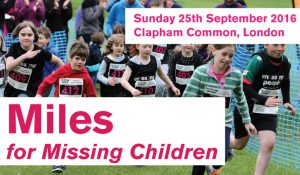 Miles for Missing Children @ Clapham Common | London | England | United Kingdom