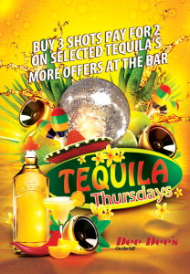 Tequila Thursdays @ Dee Dee's On The Hill | London | England | United Kingdom