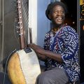 Buskers of Brixton: the Kora player