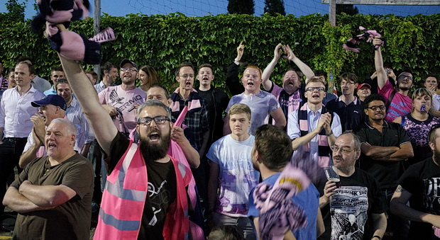 Dulwich Hamlet clobber Grays Athletic 4-0 in obscure first round cup game