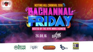 Bacchanal Friday Notting Hill Carnival Party @ Electric Brixton | London | England | United Kingdom
