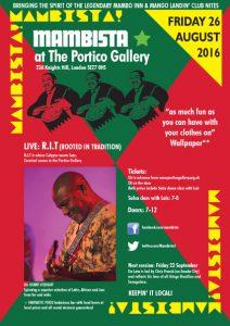 Mambista @ Portico Gallery | London | England | United Kingdom
