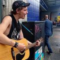 Brixton Buskers: angry protest songs from folk/punk guitarist, Ben Marvin