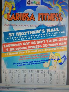 Caribsa Fitness @ St Matthew's Hall  | London | England | United Kingdom