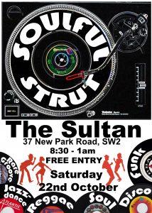 Soulful Strut @ The Sulton | London | England | United Kingdom