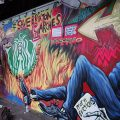 Brixton Arches: anti-eviction street art sends out a message to Network Rail