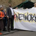 In Photos: Brixton Arches solidarity action in central Brixton, Mon 19th Sept