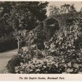 Brockwell Park in Victorian and Edwardian postcards: The Old English Garden