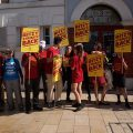 Brixton Ritzy cinema workers demand a fair wage