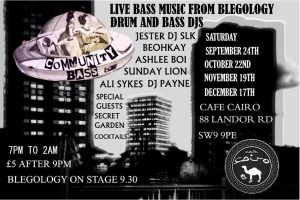 Community Bass @ Cafe Cairo  | London | England | United Kingdom
