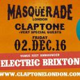 Masked House heavyweight Claptone is bringing 'The Masquerade' (a series of masked balls welcoming the freak circus into his 'otherworld') to Electric Brixton on Friday 2nd December… and we have […]