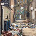 Brixton's Food Court flattened - the sad aftermath