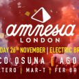 Amnesia returns to the capital for its biggest indoor showcase to date at Electric Brixton this Saturday… and we have one pair of tickets to give away to the Ibiza […]