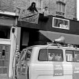 This wonderful collection of photos of Brixton in the 1980s comes from Honey Salvadori's fascinating new book, Pull It. Above can be seen the 121 Books squatted shop in Railton Road, Brixton