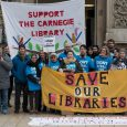 On Saturday, campaigners for Lambeth Libraries, Defend the 10, gathered in Brixton on Saturdaybefore joining campaigners from across the country onthe national demonstration for Libraries, Museums and Galleries.
