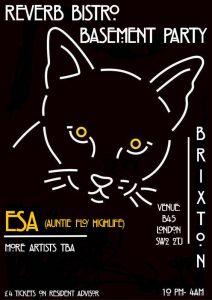 Reverb Bistro: Basement Party - Brixton @ B45   London   England   United Kingdom