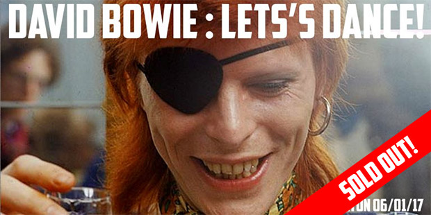 David Bowie - Let's Dance! A celebration of David Bowie in Brixton, Fri 6th Jan - SOLD OUT!