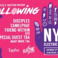 Together & Disciples have teamed up to bring The Following to Electric Brixton for New Year's Eve (Saturday 31st December) and we have one pair of tickets to give away […]