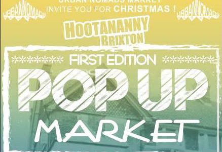 The Urban Nomads are hosting their first Pop Up Market in Brixton this weekend (Saturday 10th and Sunday 11th of December) bringinglocal and independent designers, makers and hand-crafters to Hootananny. […]