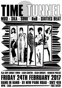 Time Tunnel - Mod, Ska, Soul, R&B & 60s Beat @ Hand in Hand | England | United Kingdom