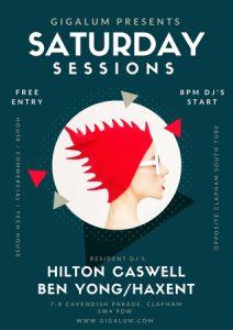 Saturday Sessions at Gigalum @ Gigalum   England   United Kingdom