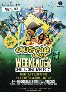 Australia Day Party @ Gigalum   England   United Kingdom