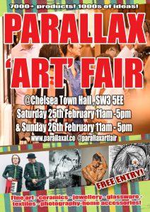Parallax Art Fair February 2017 @ Chelsea Town Hall  | England | United Kingdom