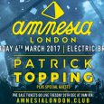 Amnesia Ibiza returns to Brixton on Saturday 4th March following November's sell out show at Electric Brixton… and we have one pair of tickets to give away to the Ibiza […]