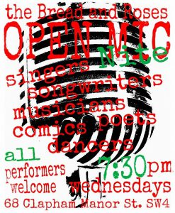Open Mic Night @ The Bread & Roses Pub | England | United Kingdom