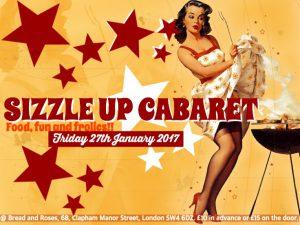 Sizzle Up Cabaret @ The Bread & Roses Pub   England   United Kingdom