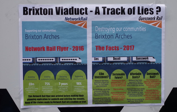 Brixton Arches and Network Rail - it's a health and safety conundrum