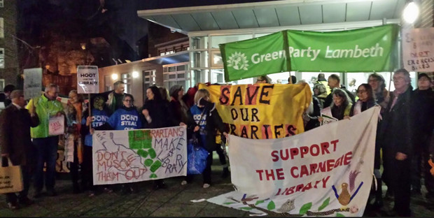 Carnegie Library: Lambeth ignores the community and approves plan to turn library into unwanted gym