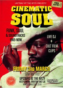 Cinematic Soul @ Upstairs at The Ritzy | England | United Kingdom