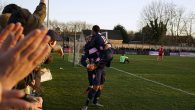 There was a huge crowd of just under 2,000 people in Champion Hill yesterday, watching a confident Dulwich Hamlet comfortably sweep aside high-flying Needham Market by two goals to nil.